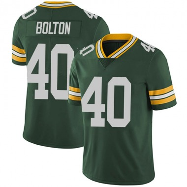 Men's Nike Green Bay Packers Curtis Bolton Team Color Vapor Untouchable Jersey - Green Limited