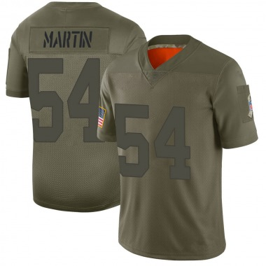 Men's Nike Green Bay Packers Kamal Martin 2019 Salute to Service Jersey - Camo Limited