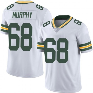 Men's Nike Green Bay Packers Kyle Murphy Vapor Untouchable Jersey - White Limited