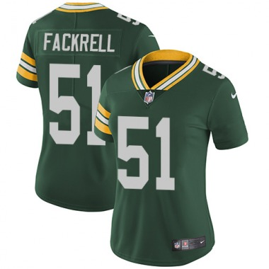 Women's Nike Green Bay Packers Kyler Fackrell Team Color Jersey - Green Limited