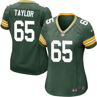Women's Nike Green Bay Packers Lane Taylor Team Color Jersey - Green Game
