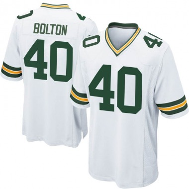 Youth Nike Green Bay Packers Curtis Bolton Jersey - White Game
