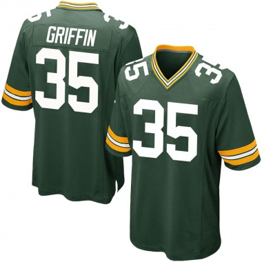 Youth Nike Green Bay Packers Frankie Griffin Team Color Jersey - Green Game