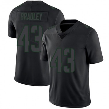 Youth Nike Green Bay Packers Hunter Bradley Jersey - Black Impact Limited
