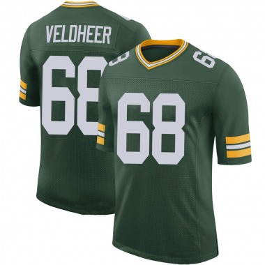 Youth Nike Green Bay Packers Jared Veldheer 100th Vapor Jersey - Green Limited