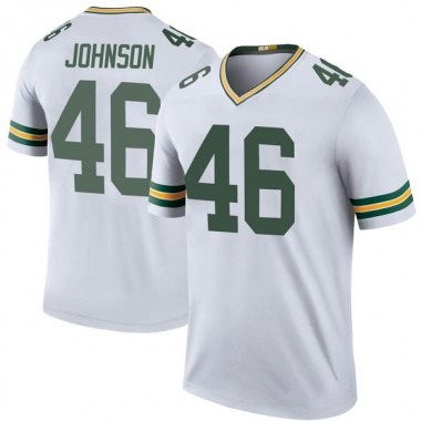 Youth Nike Green Bay Packers Malcolm Johnson Color Rush Jersey - White Legend