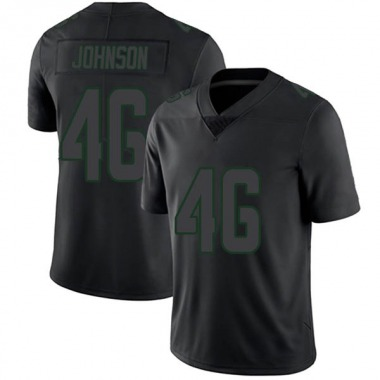 Youth Nike Green Bay Packers Malcolm Johnson Jersey - Black Impact Limited