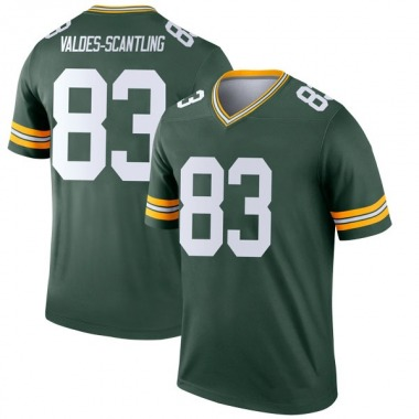 Youth Nike Green Bay Packers Marquez Valdes-Scantling Jersey - Green Legend