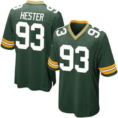 Youth Nike Green Bay Packers Treyvon Hester Team Color Jersey - Green Game